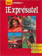 List of Synonyms and Antonyms of the Word: espanol 1 textbook